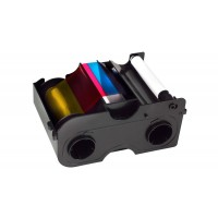 Color Ribbon for Fargo DTC1000 with Cleaning Roller