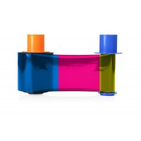 Color Ribbon for Fargo DTC4500 with Clear Overlay