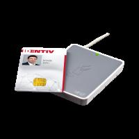 dentiv Utrust 3720 Dual Frequency USB Smart Card Reader Non-Keyboard Wedge